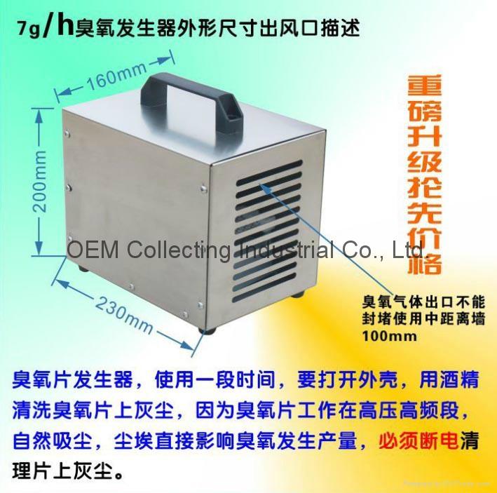 便攜式臭氧空氣淨化機 (SY-G7000M) 2