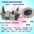 便攜式臭氧空氣淨化機 (SY-G7000M) 3