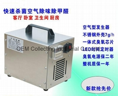 便携式臭氧空气净化机 (SY-G (热门产品 - 1*)