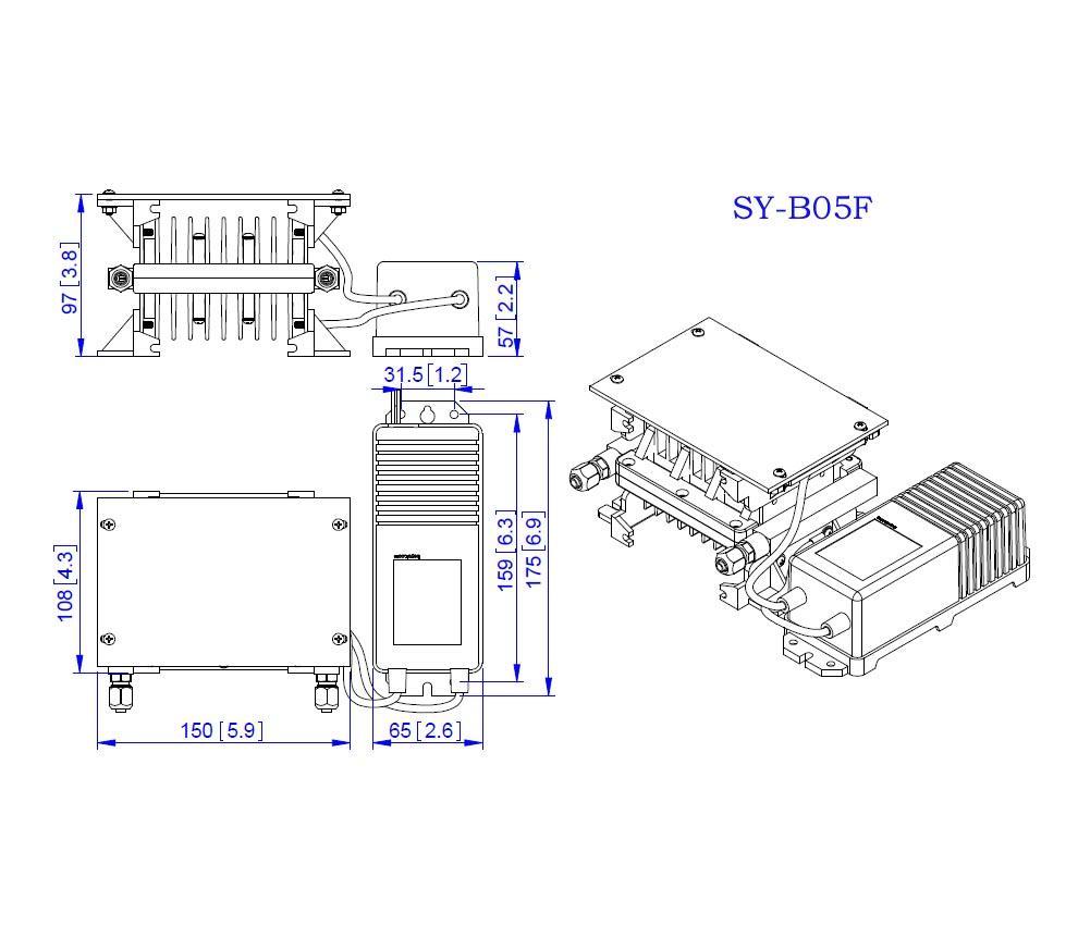 Ozone Generator Module (SY-B05F) 4