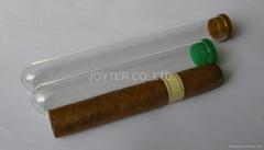 glass cigar tube