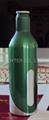 aluminum beer bottle