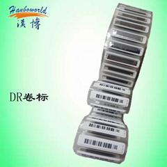卷裝 DR標籤 適用於貼標機