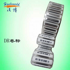58KHz EAS DR AM label roll for labelling machine