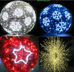 led christmas motif light street motif light