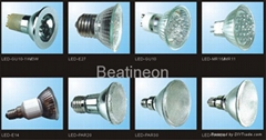 LED SPOT LIGHT/MR16/E27/GU10