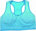 Women's seamless sport bra