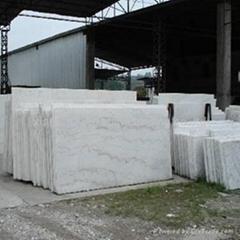 white marble--arabescato