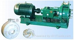 FIU型耐腐耐磨砂浆泵