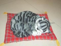 仿皮毛動物睡貓