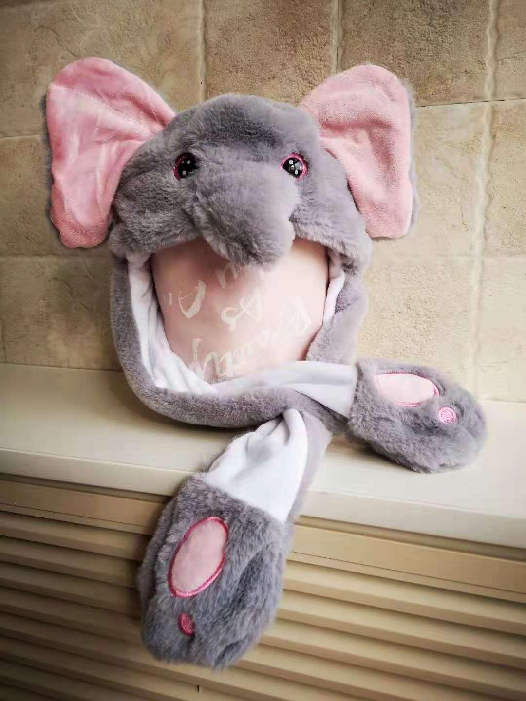 會動耳朵兔子帽子 6