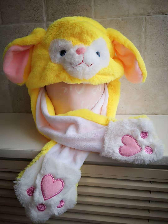 会动耳朵兔子帽子 10