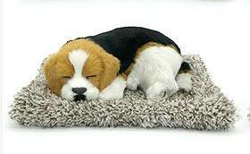 syntheic fur animal  sleeping dog 3