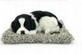 syntheic fur animal  sleeping dog 4