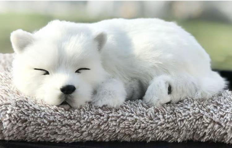 syntheic fur animal  sleeping dog 5