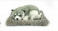 syntheic fur animal  sleeping dog 6