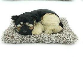 syntheic fur animal  sleeping dog 7