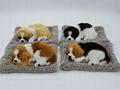 syntheic fur animal  sleeping dog 11