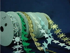 圣诞饰品配件—五角星、雪花、松树