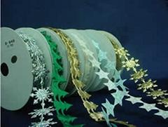 聖誕飾品配件—五角星、雪花、松樹