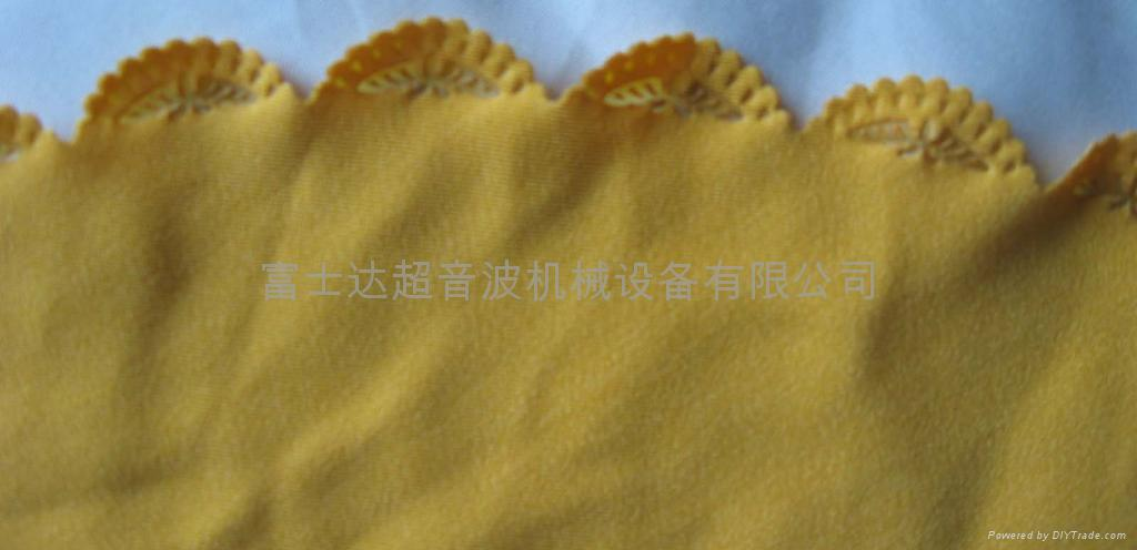 超音波包边带/织带压花/彩带压纹 3