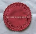 Circular cup mat