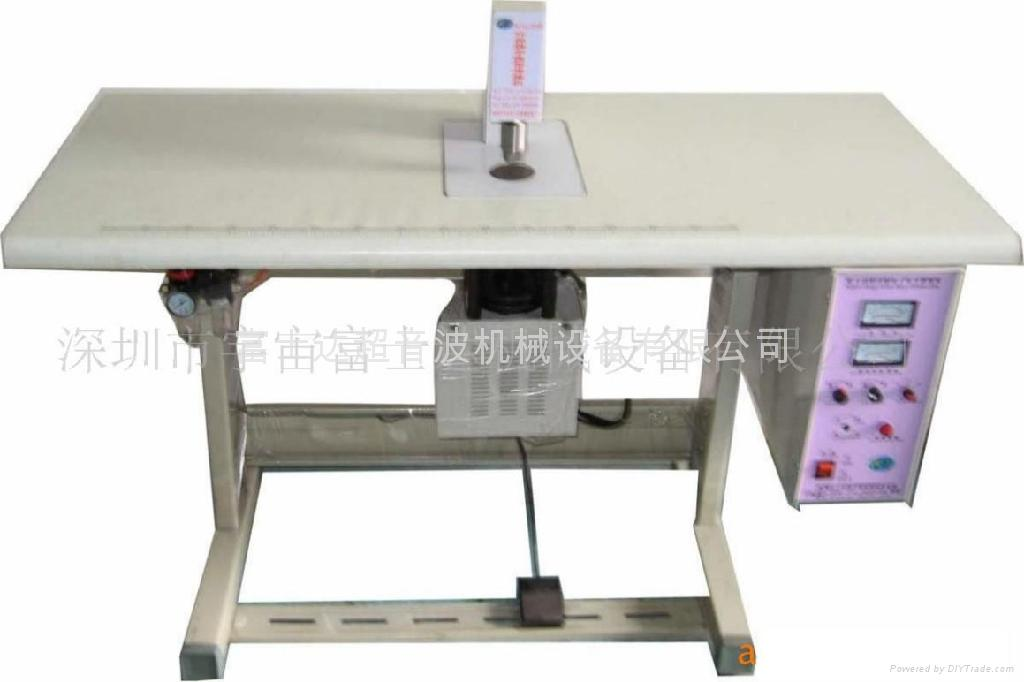 The mouth-muffle takes the machine\ the eyeshade takes to weld the machine