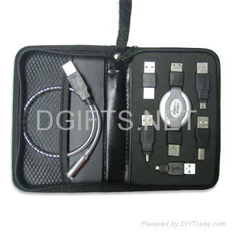 带LED灯便携式USB工具包 1