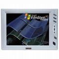 8寸 TFT 多媒体彩色监视器,可选择触摸屏装置 1