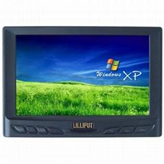 7寸 TFT 多媒體彩色監視器,帶觸摸屏裝置