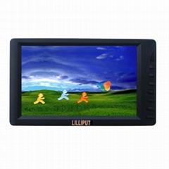 7寸站立式寬屏觸摸屏顯示器/多媒體監視器