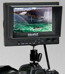 5寸液晶显示器带HDMI、YPbPr接口,高清摄像机专用
