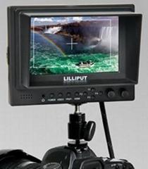 5寸液晶顯示器帶HDMI、YPbPr接口,高清攝像機專用