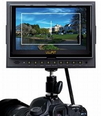 "7"" Field Monitor with HDMI input & output for Canon 5D-Ⅱ Camera"