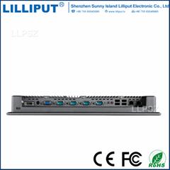利利普 PC-1502 15寸工業觸摸平板電腦 防塵防水符合IP65標準