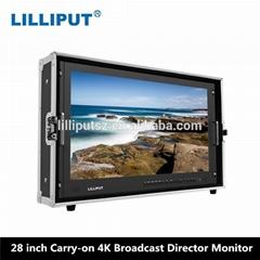 利利普 BM280-4K 28寸真4K 箱载式导演监视器 4k分辨率3840×2160