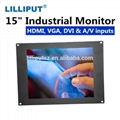 TK-1500/C/T 15 inch industrial panel pc