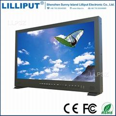 BM230-4K利利普23.8寸4K箱載式導演3G-SDI監