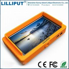 利利普Q5全高清5.5寸1920x1080 攝影監視器SDI和HDMI雙向互轉功能