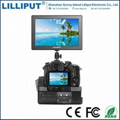 利利普A7寸导演监视器4k单反相机摄影监视器5d34 a7sr2摄像监视器