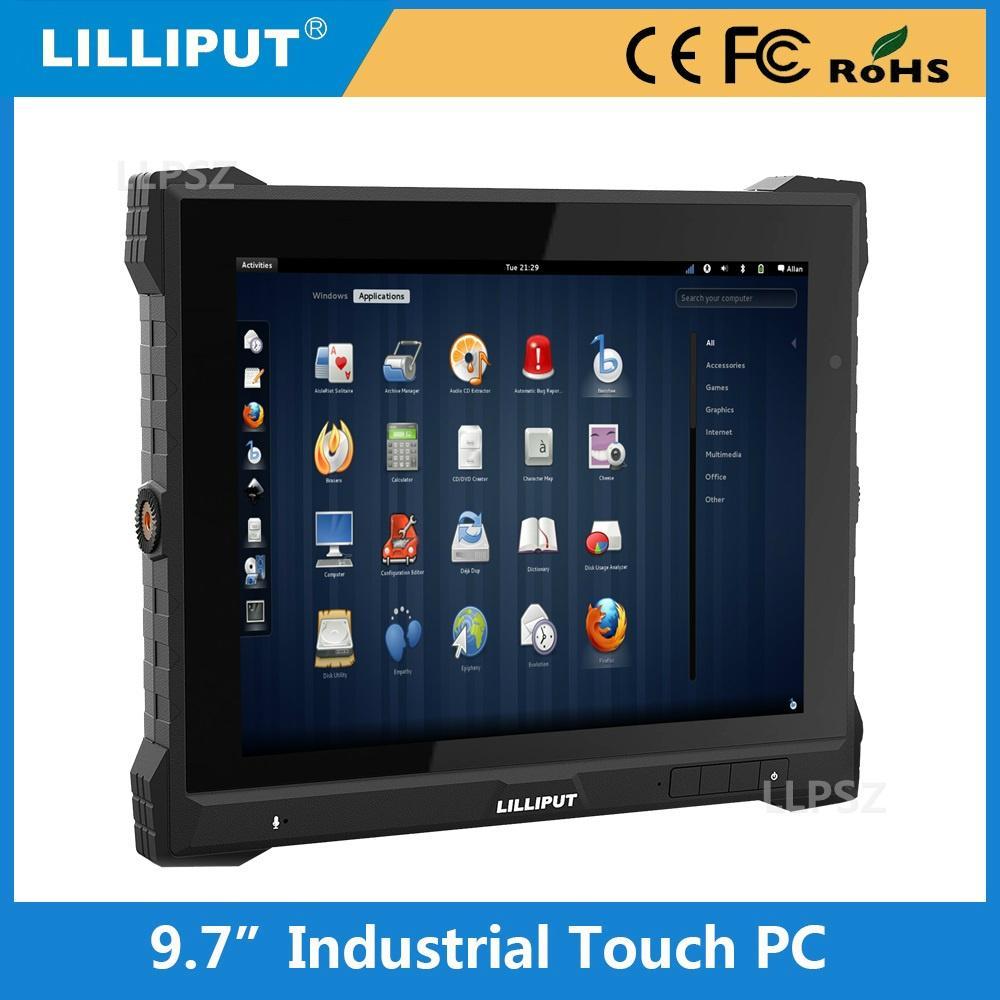 利利普 PC-9715 9.7寸工業移動數據終端 電容觸摸屏 IP64防水防塵 3