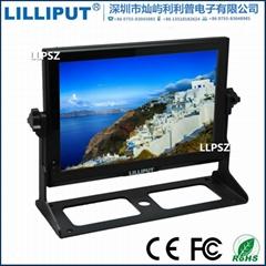 利利普 FA1014/S 10.1寸3G-SDI 导演监视器 高清hdmi摄影监视器