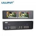 Lilliput RM-7028S Dual 7 inch 3RU Rack