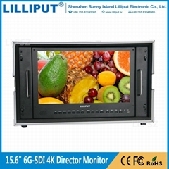 Lilliput BM150-6G 15.6 inch Ultra-HD 4K 6G-SDI Broadcast Monitor (Hot Product - 1*)
