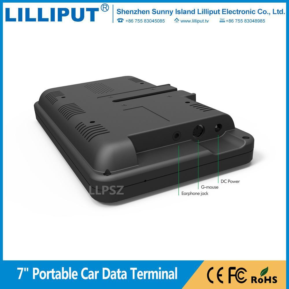 利利普 7寸安卓5.1.1系统 触摸移动数据终端 车队管理 PC-7145 4