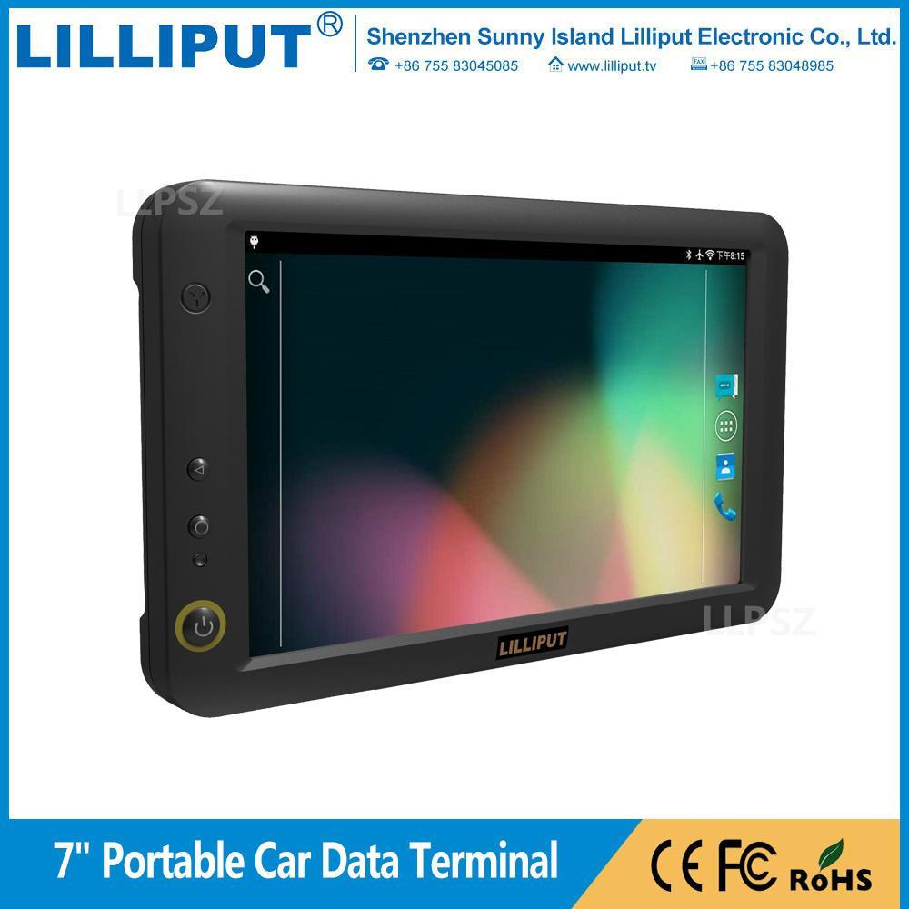 利利普 7寸安卓5.1.1系统 触摸移动数据终端 车队管理 PC-7145 1