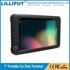 利利普 7寸安卓5.1.1系统 触摸移动数据终端 车队管理 PC-7145