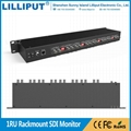 lilliput RM-0208S 1U Rackmount 2 inch 3G SDI Video Monitor 2
