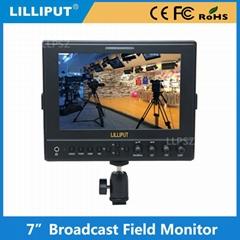 利利普663 IPS屏 7寸鐵殼搖臂攝影高清HDMI監視器 1280*800分辨率