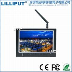 利利普 664/W 专业7寸航拍显示器 IPS屏 hdmi监视器 不蓝屏雪花点